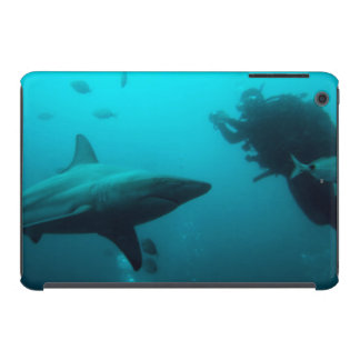 Cage Diving With Blacktip Sharks iPad Mini Retina Cover
