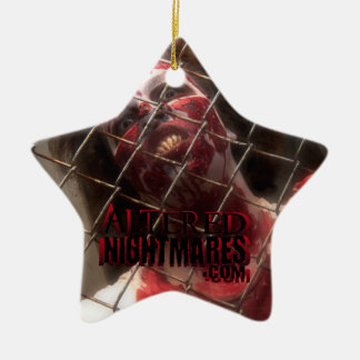 Cage of Terror Star Ceramic Ornament
