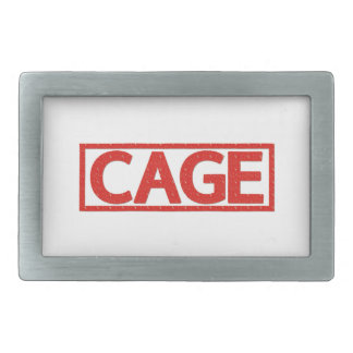 Cage Stamp Belt Buckles