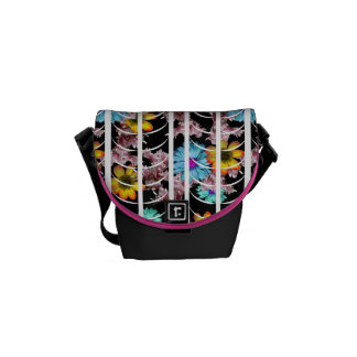 Caged Floral Commuter Bag