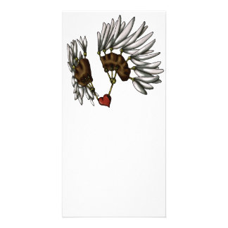 Caged Heart Photo Greeting Card