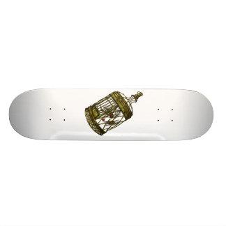 Caged Heart Custom Skate Board