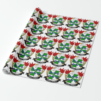 Cahill Family Crest Wrapping Paper