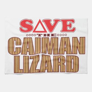 Caiman Lizard Save Towel