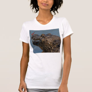 Caiman with a butterfly, Brazil T-Shirt