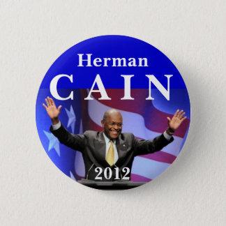 Cain 2012 2 inch round button