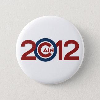 Cain 2012 Campaign Button