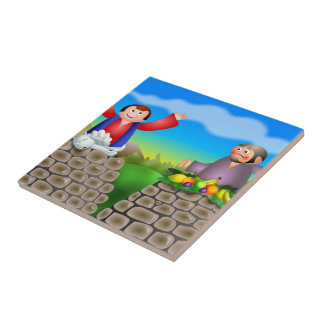 Cain and Abel Tile