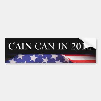 CAIN Can In 2012 Bumper Sticker