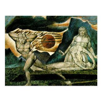 Cain Fleeing Postcard