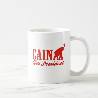 CAIN FOR PRESIDENT (Gothic) Coffee Mug