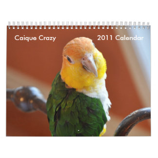 Caique Crazy 2011 Calendar