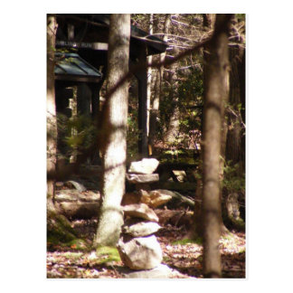 cairn appalachian trail pennsylvania postcard