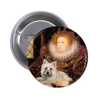 Cairn Terrier 4 - Queen 2 Inch Round Button