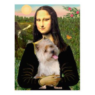 Cairn Terrier 9 - Mona Lisa Postcard