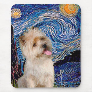 Cairn Terrier 9 - Starry Night Mouse Pad