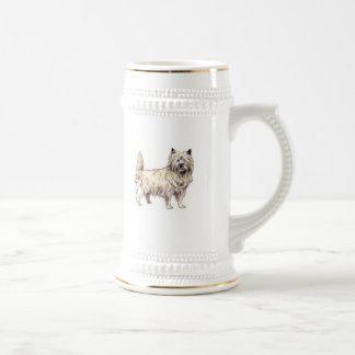 Cairn Terrier Beer Stein
