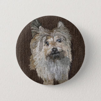 Cairn Terrier Button