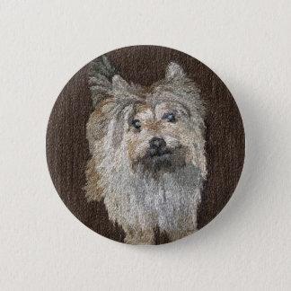 Cairn Terrier Button