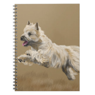 Cairn Terrier called Mackey Notebook