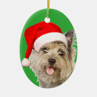 Cairn Terrier Ceramic Ornament