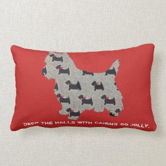 Cairn Terrier Christmas Pillow