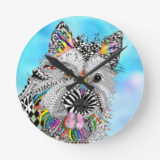 Cairn Terrier Clock (You can Customize)