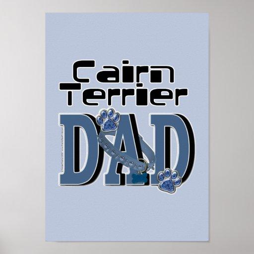 Cairn Terrier DAD Poster