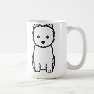Cairn Terrier Dog Cartoon Coffee Mug