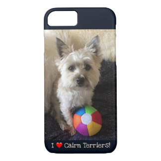 Cairn Terrier Dog Cute Colorful Ball iPhone Case