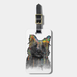 Cairn Terrier Dog Luggage Tag