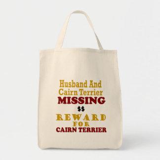 Cairn Terrier  & Husband Missing Reward For Cairn