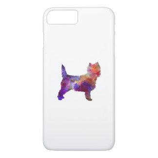 Cairn Terrier in watercolor iPhone 8 Plus/7 Plus Case