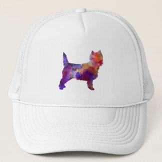 Cairn Terrier in watercolor Trucker Hat