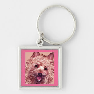 Cairn Terrier Key Chain