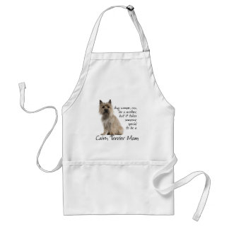 Cairn Terrier Mom Apron