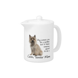 Cairn Terrier Mom Teapot