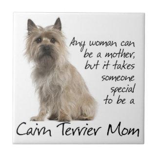 Cairn Terrier Mom Tile