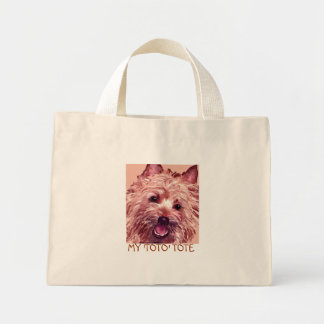 Cairn Terrier , MY 'TOTO' TOTE