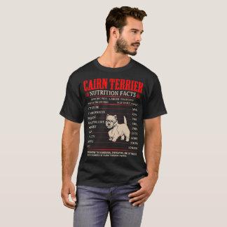 Cairn Terrier Nutrition Facts Stubborn Mischief T-Shirt