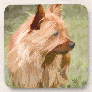 Cairn Terrier - Painting Coaster