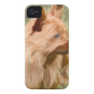 Cairn Terrier - Painting iPhone 4 Cover