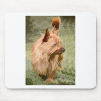 Cairn Terrier - Painting Mouse Pad