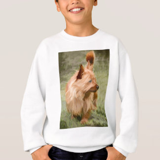 Cairn Terrier - Painting Sweatshirt