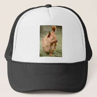 Cairn Terrier - Painting Trucker Hat