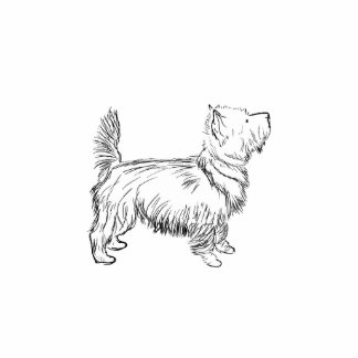 Cairn Terrier Acrylic Cut Out