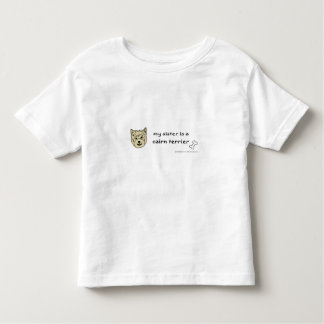 cairn terrier toddler t-shirt