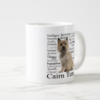 Cairn Terrier Traits Jumbo Mug