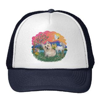 Cairn Terrier (wheaten 3) Trucker Hat