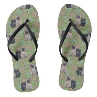 Cairn Terriers Flip Flops
